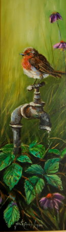 The Tap Dancer (24x12ins) Sold