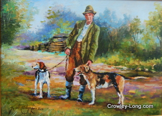 Mr O Gorman and His Hounds (SOLD)