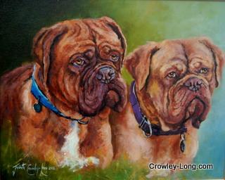 Sam and Molly- Doges de Dordogne (SOLD)