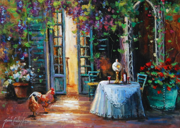 Table for Two (16x12ins) €750