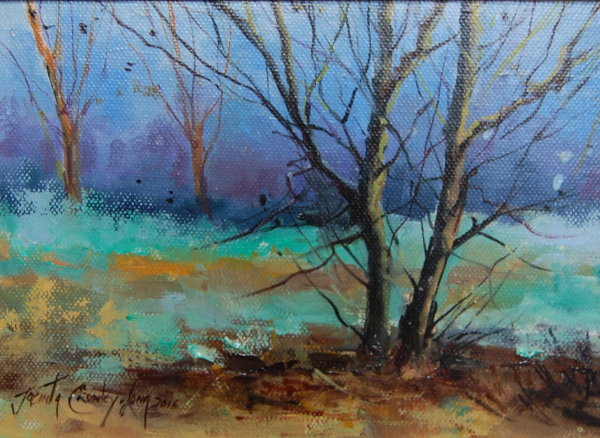At the Edge of the Wood €350