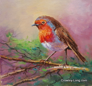 The Garden Visitor (Sold)