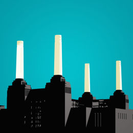SOLD Battersea Power Station Turquoise