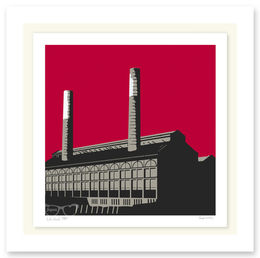 LOTS ROAD POWER STATION RED