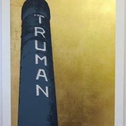 Trman Gold FRAMED