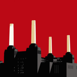 Battersea Power Station Red
