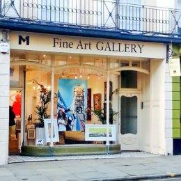 Jayson Lilley's work at M1 Fine Art Greenwich