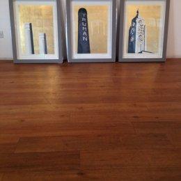 Jayson Lilley, Framed set of gold leaf London screenprints