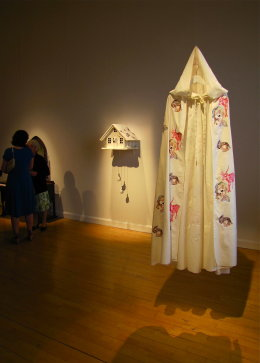 'RED RIDING HOOD'S CLOAK' & 'THE WOLF'S HOUSE' Customs House Gallery 2012
