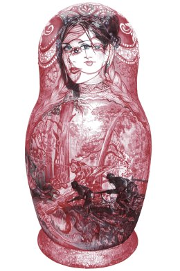 'Russian Doll', Limited Edition of 500 Signed and Numbered Prints. £40