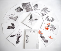 PACK OF 10 X POSTCARDS - COMPLETE SET OF 10 DESIGNS £4.99 + P&P