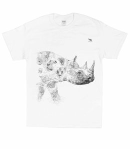 'RHINO' LIMITED EDTION T-SHIRT CAMPAIGN FOR CHENGETA WILDLIFE ONLY UNTIL END OF MARCH 2017