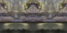 'DAYLIGHT CROFT', 2012 Digital Montage 20cm x 42cm
