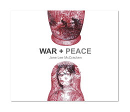 'War + Peace', Limited Edition of 50 Signed and Numbered Art books with Original Gold Tiger Drawing. £65 including P&P
