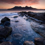 The last light-Eigg