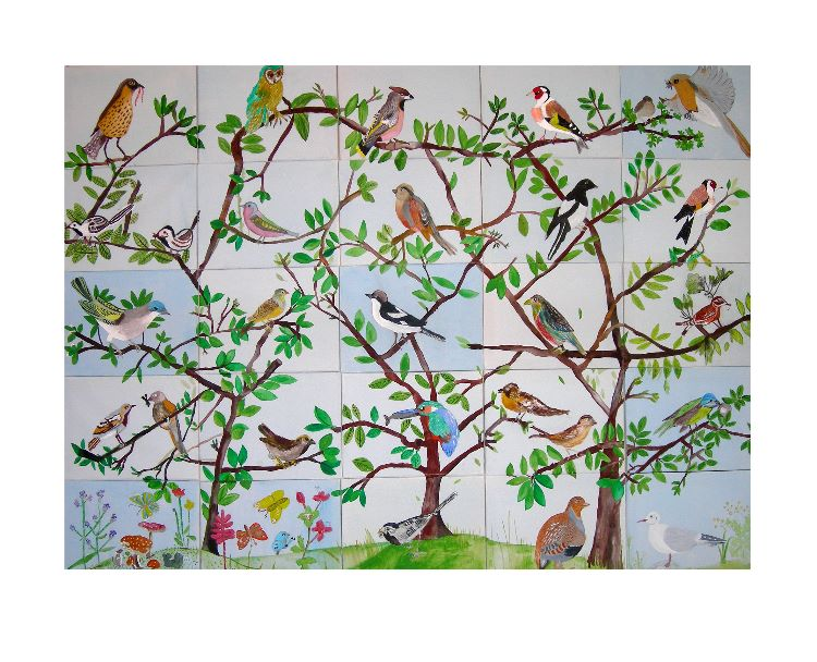 Bird - made by 25 older people Herefordshire Housing