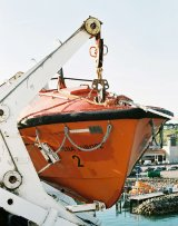 lifeboats at Rosslare