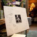 Guest Signature mount - Claire & Craig