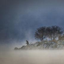 Misty Lake Sunrise 2