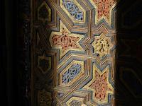 Wooden shutter of the Alcazar