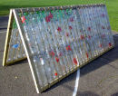 Plastic Bottle greenhouse - roof section only