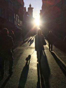 St. Gallen in the sun