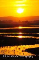 Sunset at Pulborough Brooks
