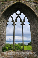 Oystermouth Castle window