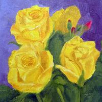 Jean Stevens Roses II