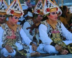Hindu sea ceremony