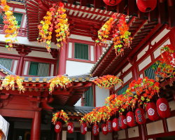 Buddhist Tooth Relic Temple, Singapore