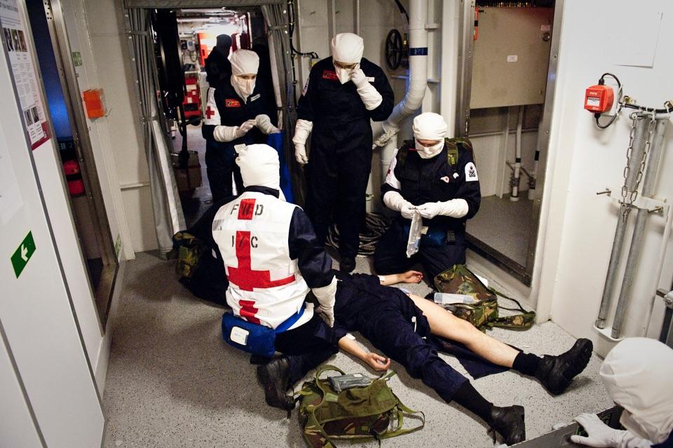 Warfare medical training