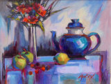 The Blue Teapot
