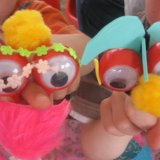 finger puppet making
