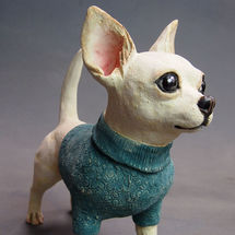 Chihuahua in Woolly Jumper! 2017