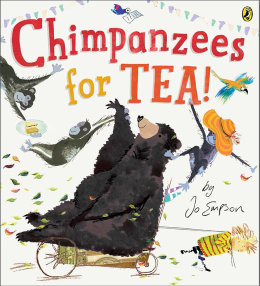 Picture Book 'Chimpanzees for Tea!'