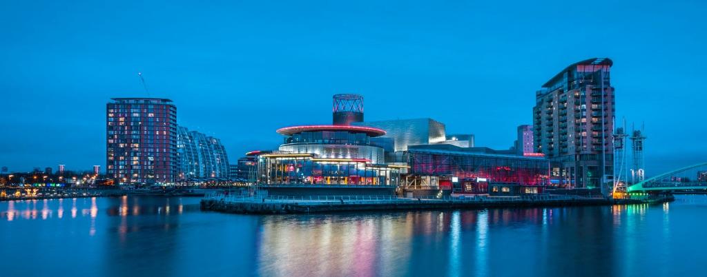 Salford Quays, Manchester, England, UK