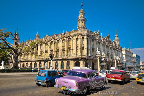 Old theatre, Parque Central, Havana, Cuba