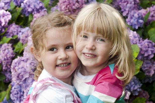 Two beautiful cousins