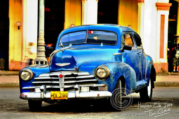 old american 1950's car
