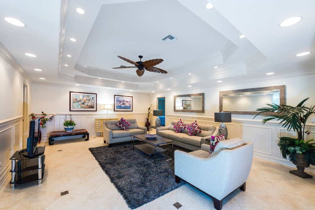 Floridian reception interior