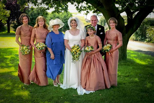 Idyllic country wedding