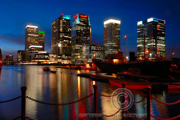 Docklands,Isle of Dogs, London, England, UK