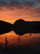 buttermere dawn portrait