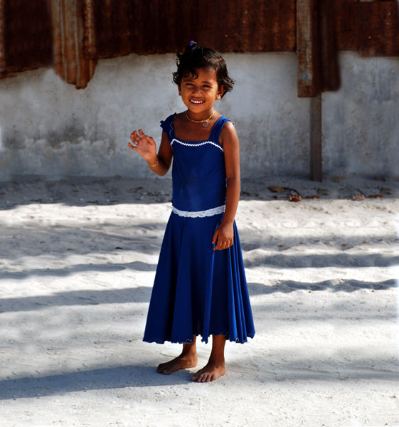 Maldivian girl