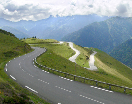 pyrenees road
