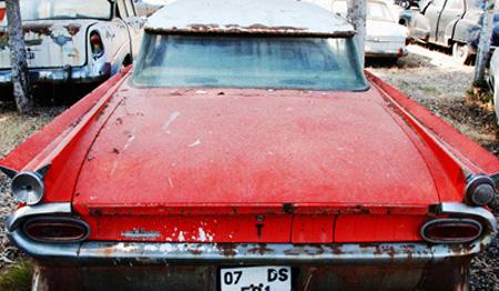 rusty pontiac