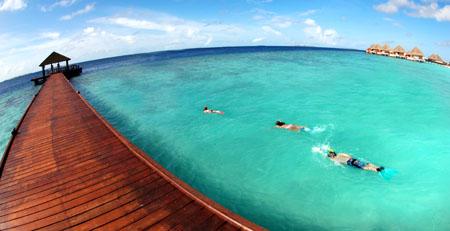 Swimming in heaven