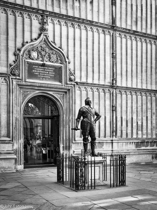 Bodleian Entrance & William Herbert