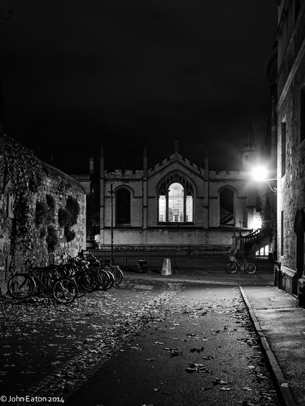 Brasenose Lane & All Souls at Night